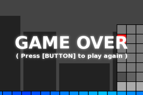 One-Button Tank Survival Game (JavaScript & HTML5)