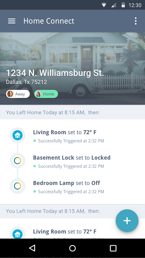 Vinli Home Connect App